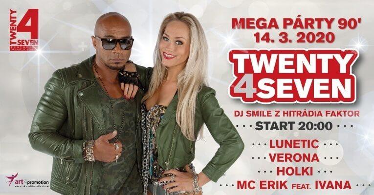 SOUTĚŽ o lístky na Mega Party 90's České Budějovice 2020