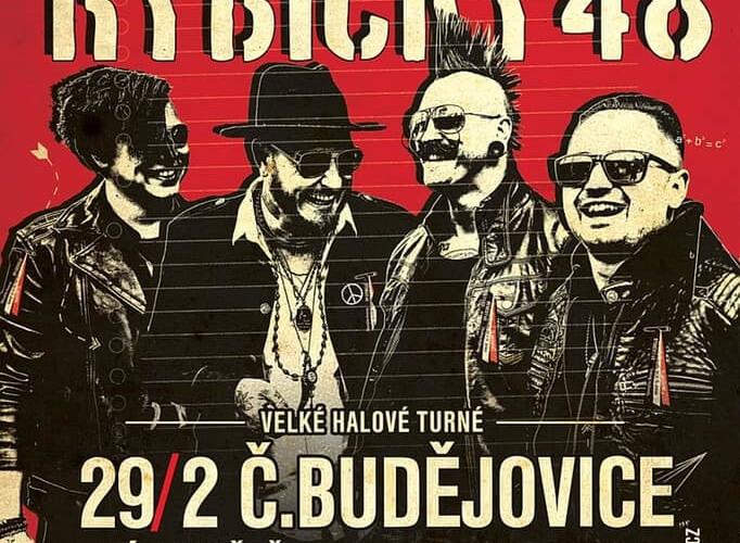 SOUTĚŽ o lístky na koncert Rybyčky 48 – rockový stužkováky