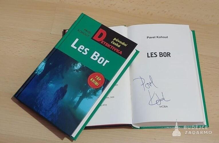SOUTĚŽ o podepsanou knihu – LES BOR‼️‼️