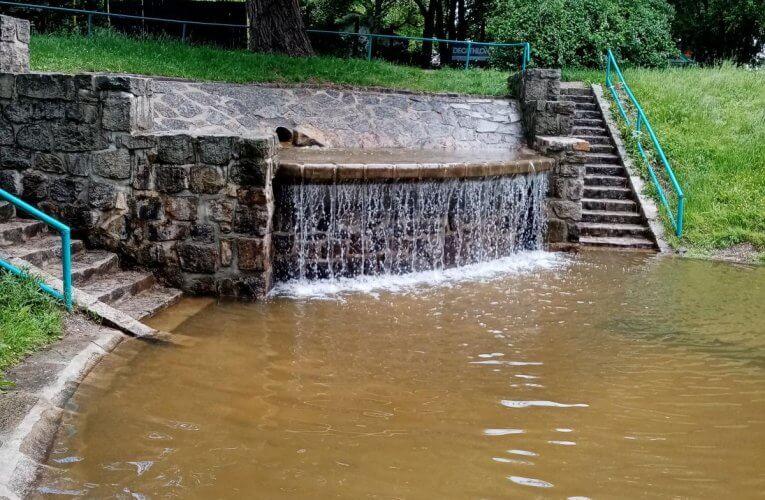 Brouzdaliště u Malého jezu má vodu