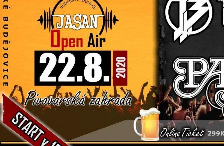 SOUTĚŽ o lístky na JASAN Open Air