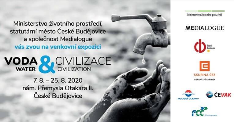 V pátek začíná výstava Voda & civilizace