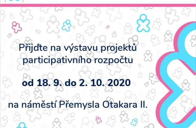 Projekty participativního rozpočtu budou vystaveny